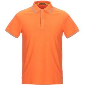 《セール開催中》SHOCKLY メンズ ポロシャツ オレンジ S 95% コットン 5% ポリウレタン