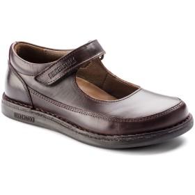 【BIRKENSTOCK】June/ジューン Natural Leather ボルドー 天然皮革 ビルケンシュトック
