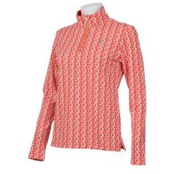 【SALE】Munsingwear(マンシングウェア)TURFロゴプリントサンスクリーン長袖シャツ(19SS)MGWNJB10※返品交換不可※