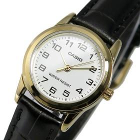 カシオ CASIO クオーツ レディース 腕時計 LTP-V001GL-7B ホワイト ホワイト