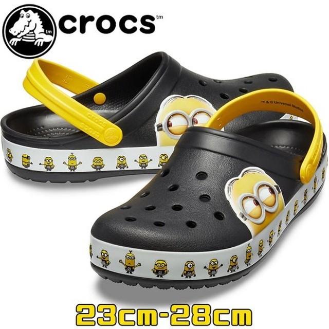 クロックス crocs クロッグサンダル メンズ レディース 205729 クロックバンド ミニオンズ クロッグ コンフォートサンダル