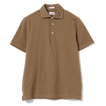 GUY ROVER / カノコ ポロシャツ メンズ ポロシャツ D.BROWN/15 XL