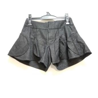 【中古】 ドレスキャンプ DRESS CAMP ショートパンツ サイズ38 M レディース 黒 ラメ