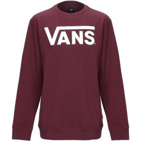 《期間限定セール中》VANS メンズ スウェットシャツ ボルドー L コットン 100% CLASSIC CREW