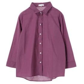 [マルイ]【セール】ベルギーリネンブレンドシャツ/セブンデイズサンデイ(レディース)(SEVENDAYS SUNDAY)