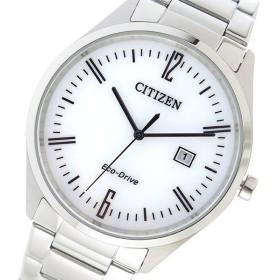 シチズン CITIZEN クオーツ メンズ 腕時計 BM7350-86A ブラック ブラック