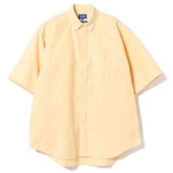 BEAMS / オックスフォード イージーフィット ボタンダウン メンズ カジュアルシャツ YELLOW XL