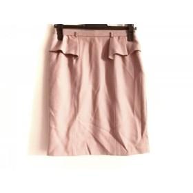 【中古】 アプワイザーリッシェ Apuweiser-riche スカート サイズ2 M レディース ピンク