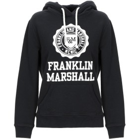 《期間限定セール開催中!》FRANKLIN & MARSHALL レディース スウェットシャツ ブラック M コットン 100%
