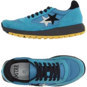 《セール開催中》2STAR レディース スニーカー&テニスシューズ(ローカット) ターコイズブルー 38 革 / 紡績繊維