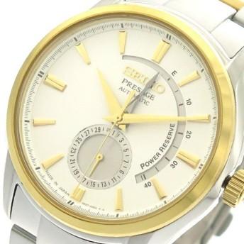 セイコー SEIKO 腕時計 メンズ SSA352J1 自動巻き ホワイト シルバー  ホワイト