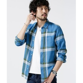 [マルイ]【セール】【19SS】Herdman Linenバリエーションシャツ LS/ナノ・ユニバース(メンズ)(nano universe)
