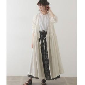 かぐれ / かぐれ SOIL LINEN CACHE COEUR DRESS