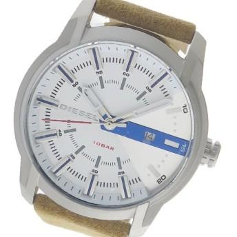 ディーゼル DIESEL クオーツ メンズ 腕時計 DZ1783 ホワイト ホワイト