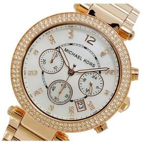 b653ed320a31 マイケルコース MICHAEL KORS クオーツ クロノグラフ 腕時計 MK5491 ホワイト