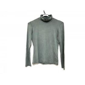 【中古】 マックスマーラ Max Mara 長袖Tシャツ サイズS レディース グリーン タートルネック