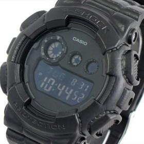 カシオ CASIO Gショック G-SHOCK 腕時計 メンズ GD-120BT-1 クォーツ ブラック ブラック