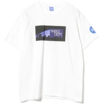 Parks Department / Maggie Tee メンズ Tシャツ WHITE XL