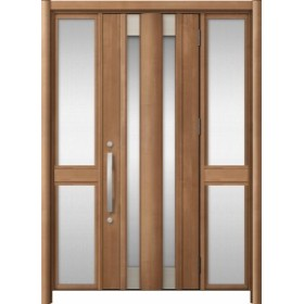 玄関ドア リシェント3 アルミ  C14N型 両袖中桟付ポスト無 W:1,150~1,895mm × H:1,738~2,038mm LIXIL リクシル TOSTEM