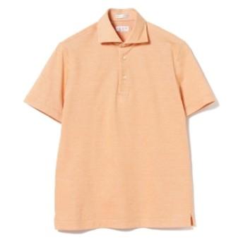 GUY ROVER / カノコ ポロシャツ メンズ ポロシャツ ORANGE/21 L