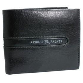 アーノルドパーマー ARNOLD PALMER 二つ折り メンズ 短財布 4AP3073-BK ブラック ブラック