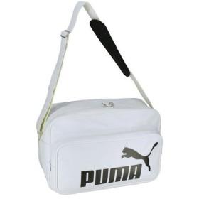 【クーポン発行中】 プーマ PUMA スポーツバッグ ショルダーバッグ トレーニング PU ショルダー L 075371-05 PUMA WHITE-PU 【2019SS】