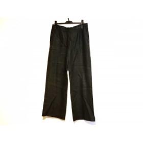【中古】 マックスマーラ Max Mara パンツ サイズ44 L レディース カーキ 麻