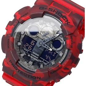 カシオ CASIO Gショック アナデジ メンズ 腕時計 GA-100CM-4A