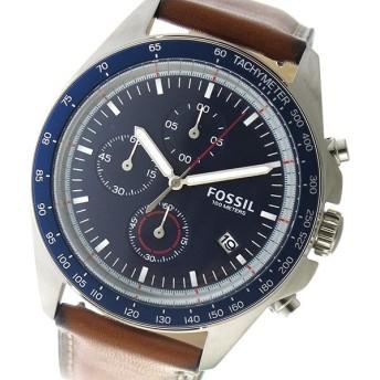 フォッシル FOSSIL クロノ クオーツ メンズ 腕時計 CH3039 ネイビー ネイビー