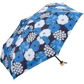 [マルイ]【セール】日傘 晴雨兼用 折りたたみ T/C遮光ギンガムチェックフラワー刺繍mini(レディース/雨の日も使え/w.p.c(WPC)