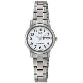 シチズン CITIZEN キューアンドキュー Q&Q レディース 腕時計 A207-204 シルバー ホワイト