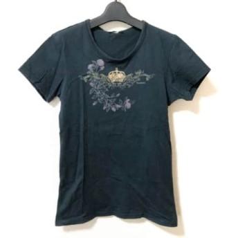【中古】 トルネードマート TORNADO MART 半袖Tシャツ メンズ ダークグリーン マルチ