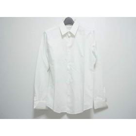 【中古】 ウーヨンミ WOOYOUNGMI 長袖シャツブラウス サイズ46 XL レディース 白