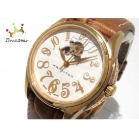 ハミルトン HAMILTON 腕時計 ジャズマスター レディオート H323450 レディース アイボリー    値下げ 20190713