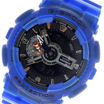 カシオ CASIO Gショック G-SHOCK メンズ 腕時計 GA-110CR-2AJF ブラック/ブルー ブラック