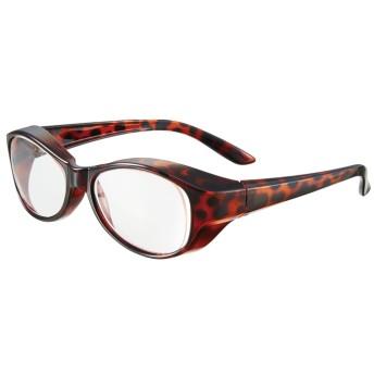 ベルーナインテリア 日本製 メガネの上からかけられる拡大鏡 パープル 1.4倍