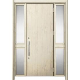 玄関ドア リシェント3 断熱 K2 M17型 両袖中桟付ポスト無 W:1,030~1,695mm × H:1,739~2,039mm リクシル