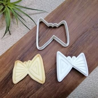 北欧☆ 蝶々Butterfly☆ size横5x縦5cm クッキー型/クッキーカッター