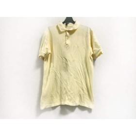 【中古】 フレッドペリー FRED PERRY 半袖ポロシャツ サイズ40 M メンズ イエロー