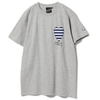【SPECIAL PRICE】BEAMS T / Left My Heart Tee メンズ Tシャツ GREY XL