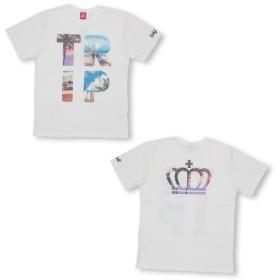 Tシャツ - BABYDOLL 親子お揃い TRIPフォト Tシャツ 2273A ベビードール BABYDOLL 子供服大人 ユニセックス 男女兼用 レディースメンズ