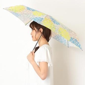 エスタ(estaa)/雨傘(2段折りたたみ/ミニ/楽々開閉)【超軽量/UV・晴雨兼用/グラス骨】(レディース)