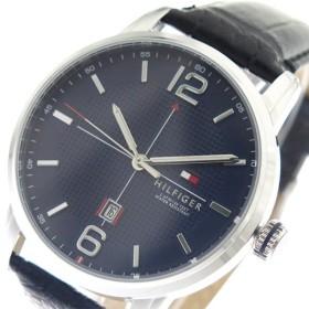 トミーヒルフィガー TOMMY HILFIGER 腕時計 メンズ 1791216 ネイビー ブラック ネイビー