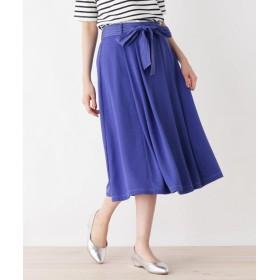 HusHusH(Ladies)(ハッシュアッシュ(レディース)) 配色カラーステッチフレアスカート