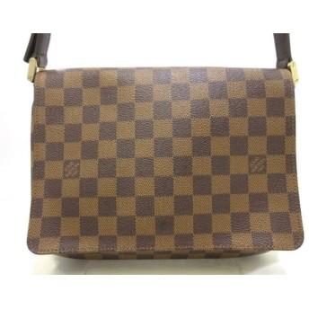 中古 Louis Vuitton ルイヴィトン ショルダーバッグ ダミエ ミュゼット・タンゴ N51301