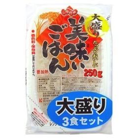 カネスコーポレーション 美味いごはん 大盛り ( 250g3コ入 )