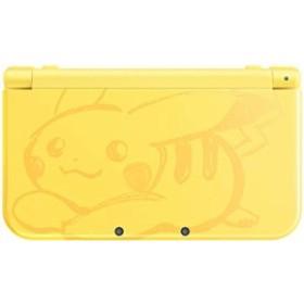 【送料無料】【中古】3DS Newニンテンドー3DS LL ピカチュウ【イエロー】(箱説付き)