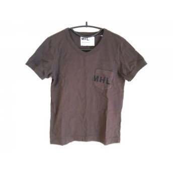 【中古】 マーガレットハウエル MHL. 半袖Tシャツ サイズ2 M レディース ダークグレー