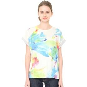 [マルイ]【セール】【レディース】バックボタンTシャツ(フローイングカラーズ)/グラニフ(graniph)