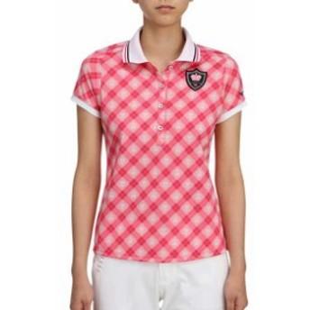 半袖ポロシャツ(レディース)【MIZUNO】ミズノゴルフ ウエア トップス(52MA7204)